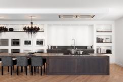 Plafond Afzuigkap Keuken : Afzuigkap voor kookeiland