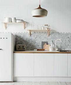 collectie de ideale achterwand voor jouw keuken, verzameld door, Meubels Ideeën
