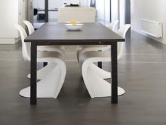 Keuken met betonlook vloer design vloer foto geplaatst door