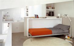 Sofa bed contemporary canvas person dimitri prestige