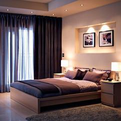 een gezellige slaapkamer