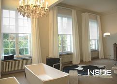 Raam Gordijn 6 : Raamdecoratie voor hoge ramen jasno