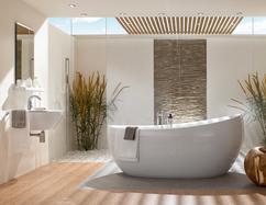 Badkamer Vrijstaand Bad : Ligbad in verschillende materialen voorlichtingsburo wonen