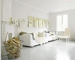 Witte Woonkamer Voorbeelden : Wit laminaat woonkamer thomas gaspersz