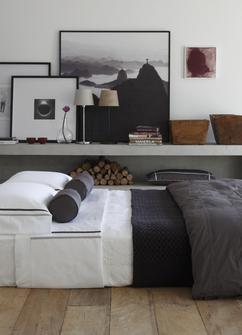 warme gezellige slaapkamer