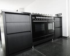 Black Industriele Keuken : Stoere industriële keukens tulp keukens