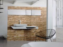 Steenstrips Op Badkamer : Badkamer taupe en steenstrips badkamer bathroom