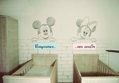 Babykamer Tweeling Ideeen : Babykamer tweeling wit u cartoonbox