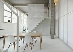 Industriele Vloer Woonkamer : Industriële woonkamer