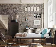 Eenvoudige Industrieel Woonkamer : Stoer interieurontwerp van een industriële woonkamer huis