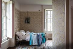 Beibehang amerikaanse retro slaapkamer behang persoonlijkheid