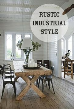 rustic industrial interior industrieel