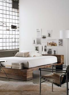 Collectie: slaapkamers met een industriële uitstraling, verzameld ...