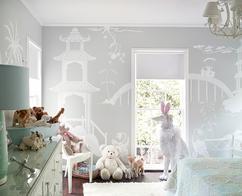 Behang slaapkamer rustig