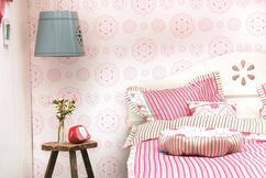 Behang Kinderkamer Roze : Behang kinderkamerstylist