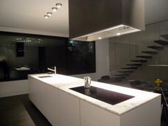 Marmer Zwart Keuken : Afgestoft trend wit marmer