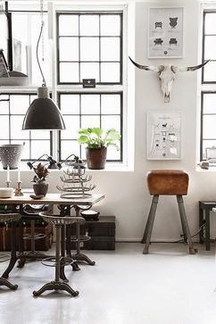Collectie: Tips voor een industrieel interieur, verzameld door welke ...