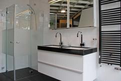 Witte Badkamer Wastafel : Witte badkamer wastafel u devolonter