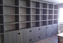 De Leukste Ideeën Over Boekenkast Van Steigerhout Vind Je