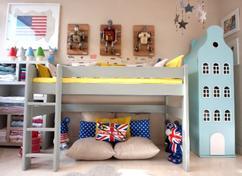 Leuke Kleine Slaapkamers : Heb je een kleine slaapkamer creëer ruimte door behang met diepte