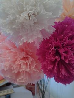 De leukste ideeën over -bloemen papier maken vind je op Welke.nl