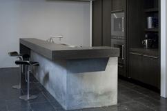 Kookeiland met bar gedeelte keukens op maat keukenloods