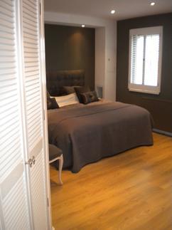 slaapkamer met inloop kast