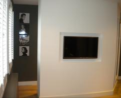 Tv In Slaapkamer : Tv hoogte aan de muur