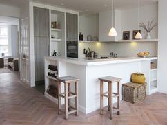 Mooi voor in de keuken zwevende planken interior junkie