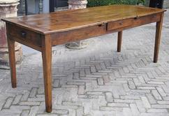 Eettafel van oud hout tafel design