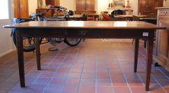 Oude houten tafel te koop in kasterlee lichtaart tweedehands
