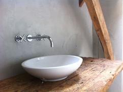 Eiken Werkblad Badkamer : Stenen werkblad badkamer u devolonter