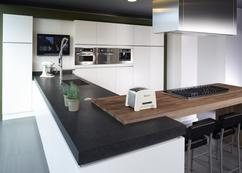 Keuken Met Schiereiland : Showroomkeukens alle showroomkeuken aanbiedingen uit nederland