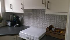 Tegels keukenwand voorbeelden stunning afwerking van met