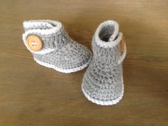 De Leukste Ideeën Over Patroon Babyslofjes Vind Je Op Welkenl