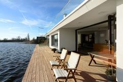 Moderne huis buitenarchitectuur stock foto afbeelding bestaande