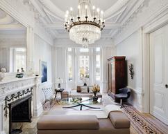 Woonkamer Ideeen Klassiek : Inrichting woonkamer modern klassiek huis inspiratie huis