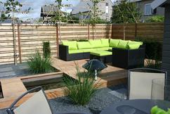 Designwaterval voor tuin terras balkon creastone