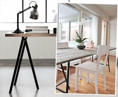 Houten Tafel Ikea : Houten tafel verven ikea eettafel design decoratie interieur