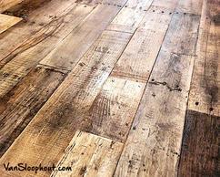 Robuust oude eiken vloeren