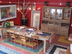 Collectie: Tafels en stoelen voor in de eetkamer, verzameld door ...