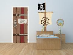 Muurstickers Kinderkamer Piraat.De Leukste Ideeen Over Piraten Kinderkamer Vind Je Op Welke Nl