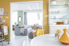 Zomer In Keuken : Gietvloer keuken wit interieur zomer gietvloer
