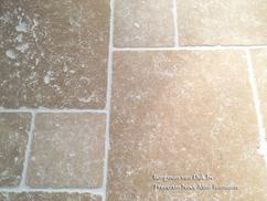 Travertin Tegels Badkamer : Gietvloer strakke vloer in woonkamer en badkamer alle voor en