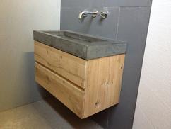 Wastafel Van Beton : Beton cire wastafel beton aparte
