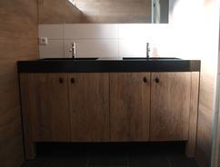 Badkamermeubel met wasbak eigen huis en tuin