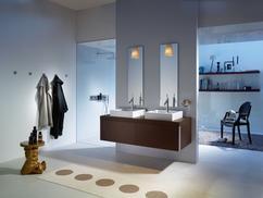 Inloopdouche Met Wasmeubel : Neerbeek strakke badkamer met inloopdouche en sunshower