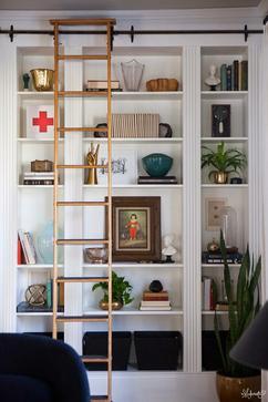 mooie wandkast gemaakt van billy boekenkasten van ikea maura_l maura_l