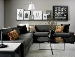 Woonkamer Met Grijstinten : Tips voor het inrichten van een grote woonkamer mannennieuws
