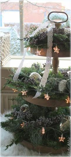 """de leukste ideeën over """"-tafelstuk kerst"""" vind je op welke.nl"""
